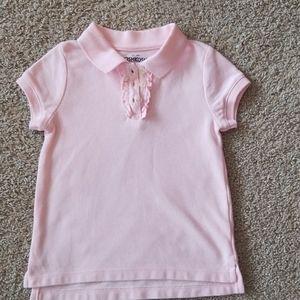 (EUC) Oshkosh Bgosh girls polo shirt size 4T